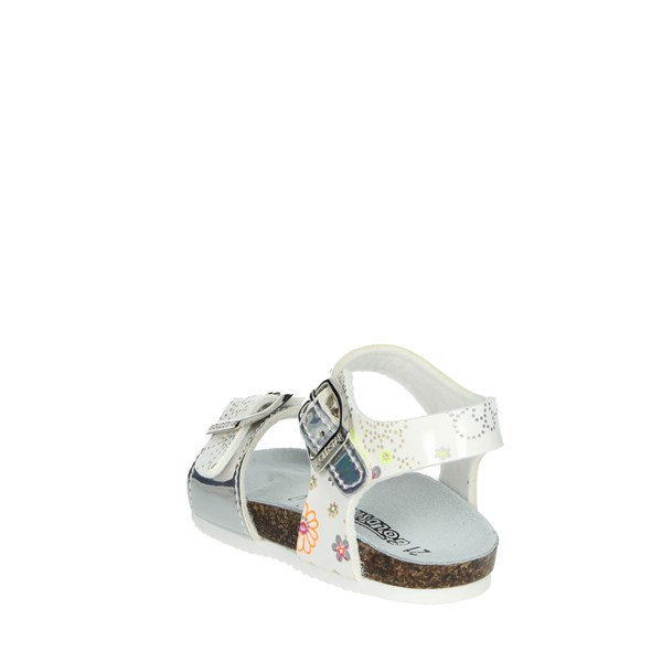 Goldstar Shoes Sandal White/Silver 8846PF