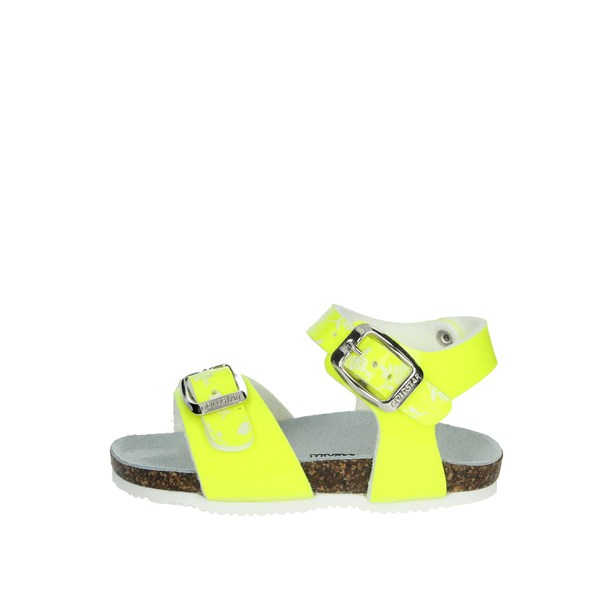 Goldstar Shoes Sandals Yellow-Fluo 8846F