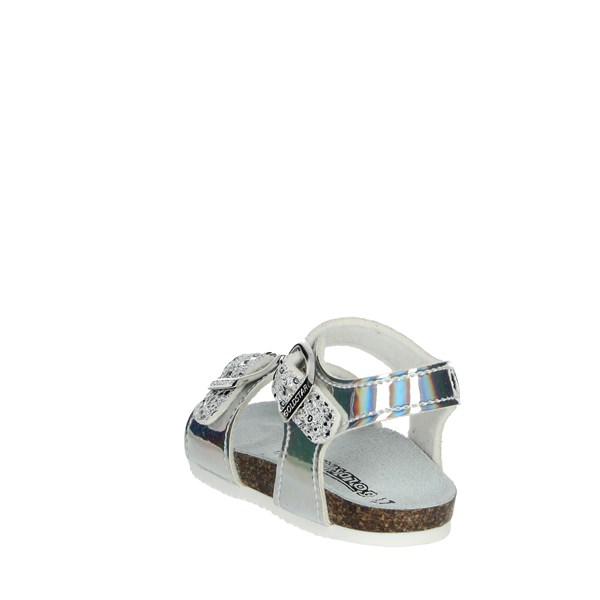 Goldstar Shoes Sandals White/Silver 8846AT
