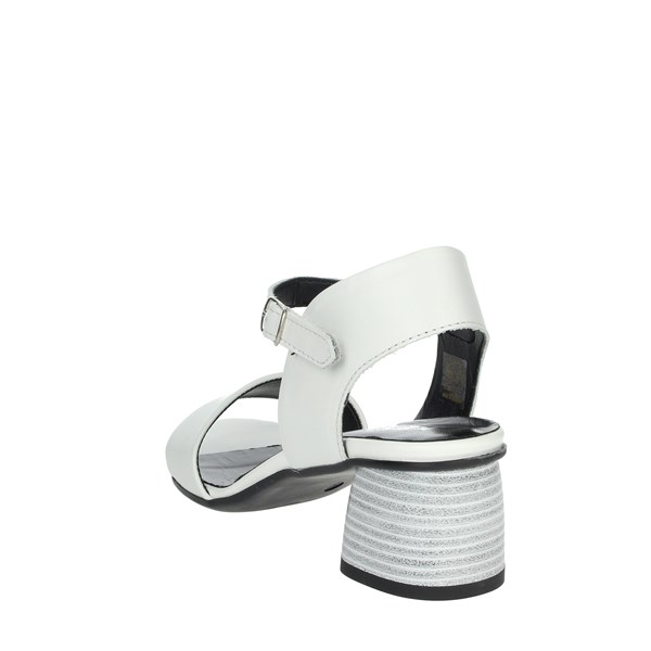 Keys Shoes Sandals White K-1941