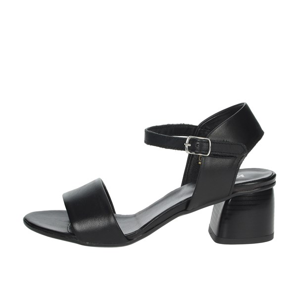 Keys Shoes Sandals Black K-1941