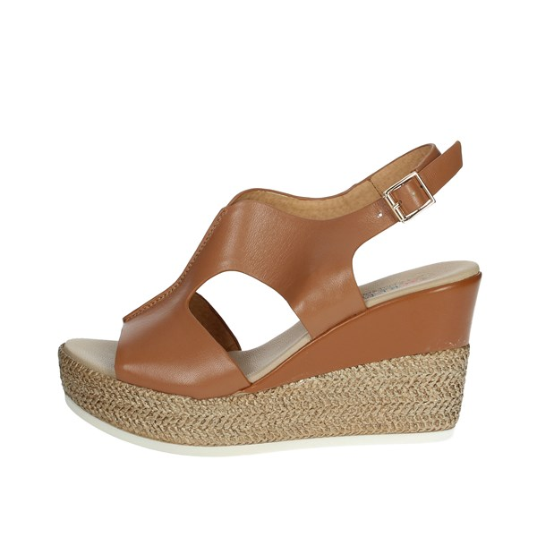 Repo Shoes Sandal Brown leather 52615