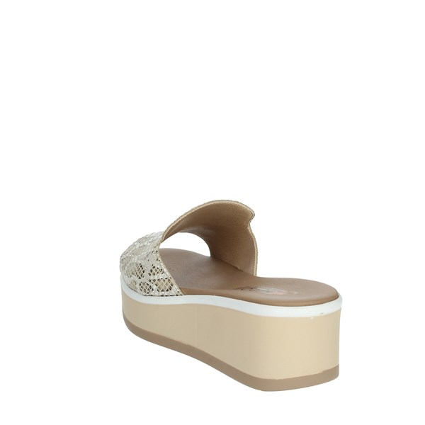 Repo Shoes Clogs Beige 16172