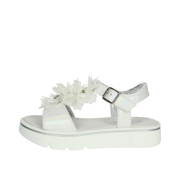 Asso Shoes Sandal White AG-7103