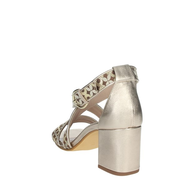 Paola Ferri Shoes Sandals Bronze  D8128