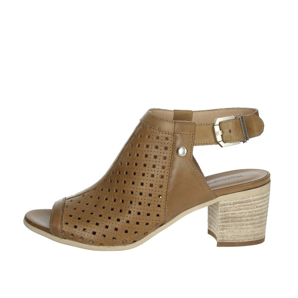 Nero Giardini Shoes Sandals Brown leather E012290D
