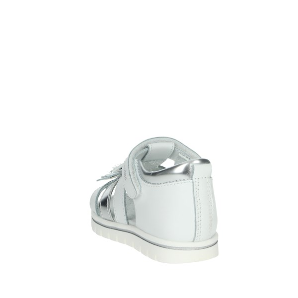 Nero Giardini Shoes Sandal White/Silver E021480F