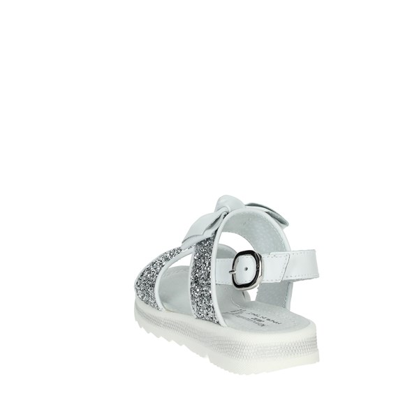 Nero Giardini Shoes Sandal White/Silver E031600F