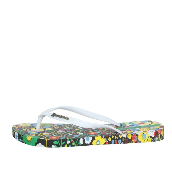 Ipanema Shoes Flip Flops White/Black 82684
