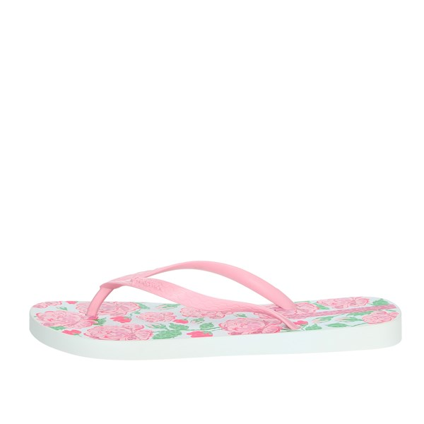 Ipanema Shoes Flip Flops Rose/White 82655