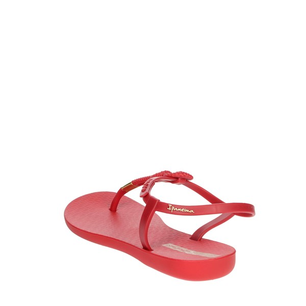 Ipanema Shoes Flip Flops Red 26207