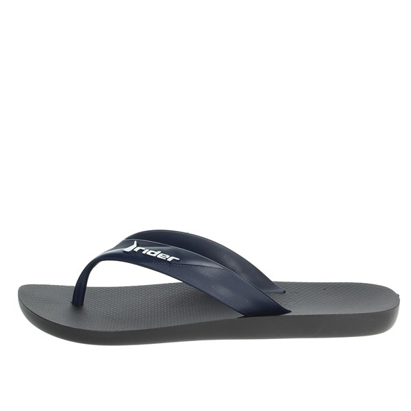 Rider Shoes Flip Flops Blue/Black 81666