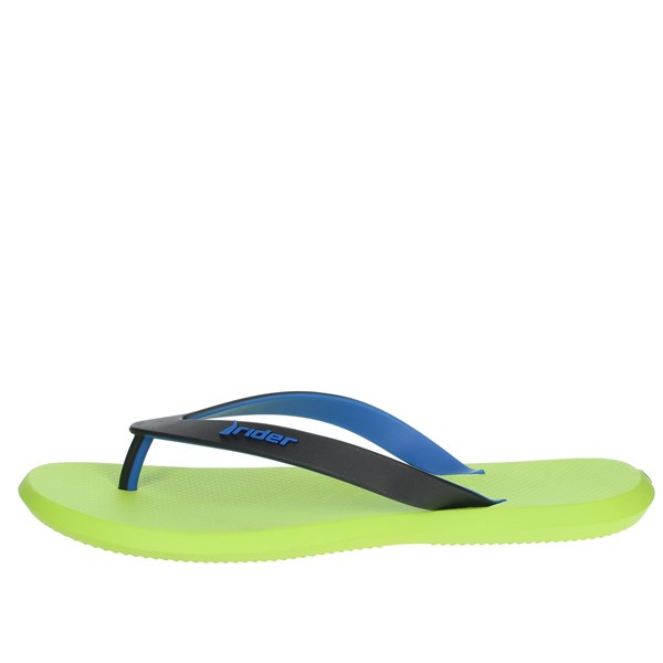 Rider Shoes Flip Flops Blue/Green 10594