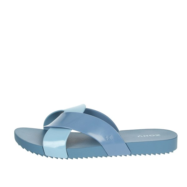 Zaxy Shoes Clogs Light Blue 17543
