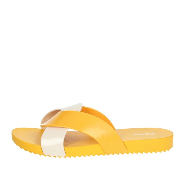 Zaxy Shoes Clogs Yellow 17543