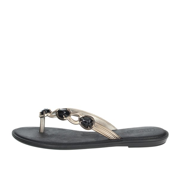 Grendha Shoes Flip Flops Black 17627