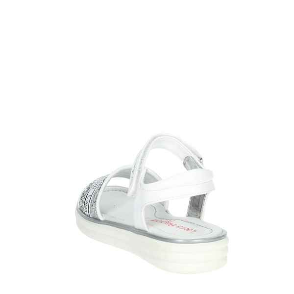 Laura Biagiotti Dolls Shoes Sandal White/Silver 6384