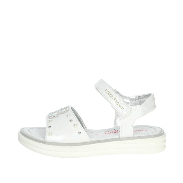Laura Biagiotti Dolls Shoes Sandal White 6381