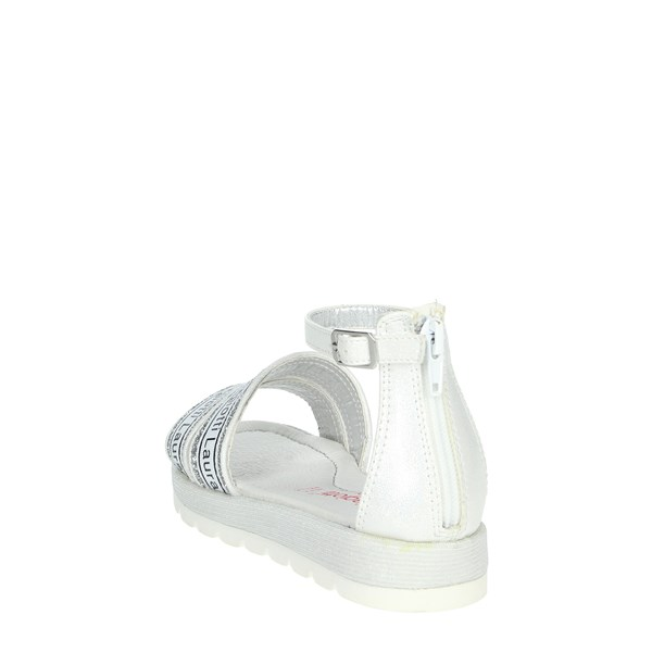 Laura Biagiotti Dolls Shoes Sandal White/Silver 6464