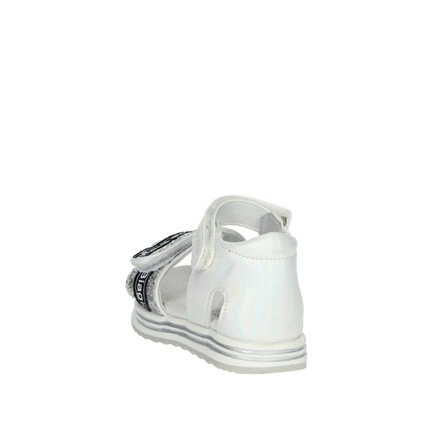 Laura Biagiotti Dolls Shoes Sandal White/Silver 6481