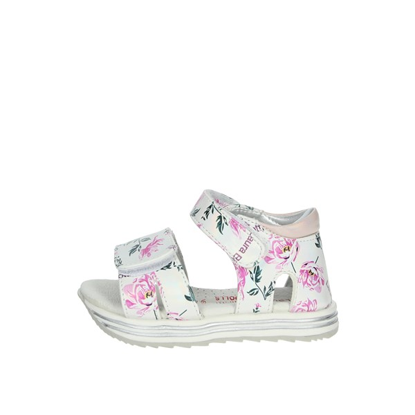 Laura Biagiotti Dolls Shoes Sandal White/Fuchsia 6482