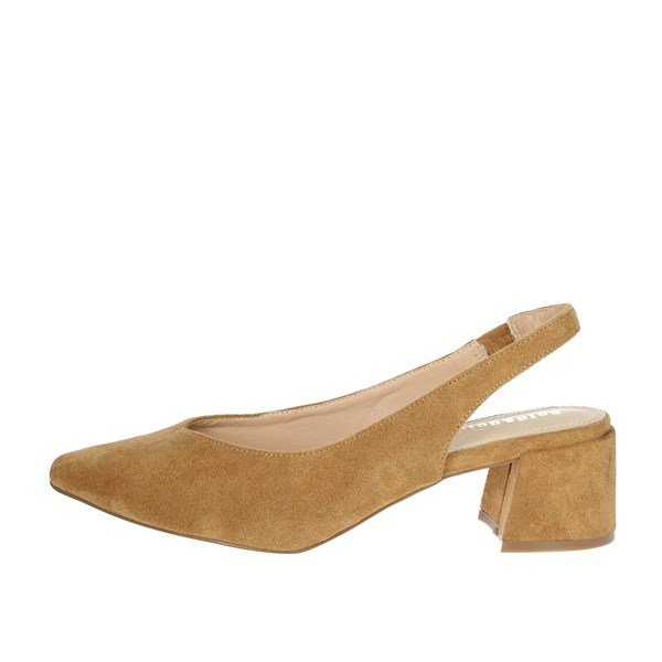 Gold & Gold Shoes Pumps Brown leather GD183