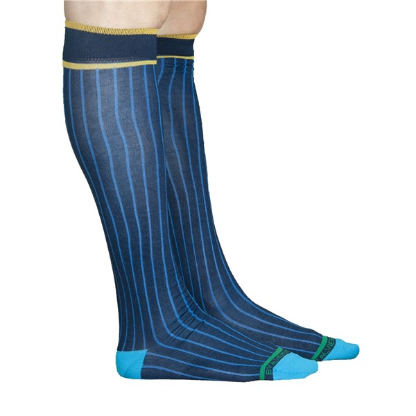 Alv By Alviero Martini Accessories Socks Blue ALV4101