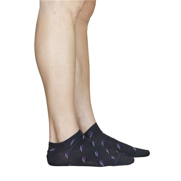 Alv By Alviero Martini Accessories Socks Charcoal grey ALV4096