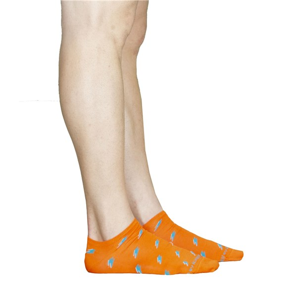 Alv By Alviero Martini Accessories Socks Orange ALV4096