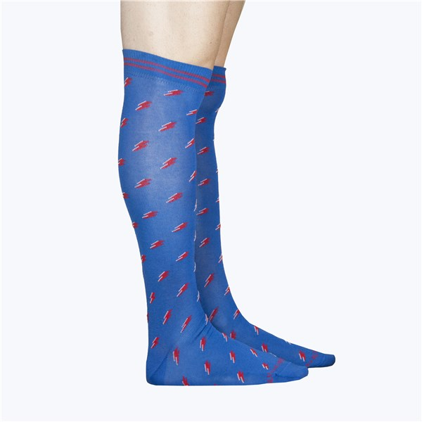 Alv By Alviero Martini Accessories Socks Light blue ALV4099