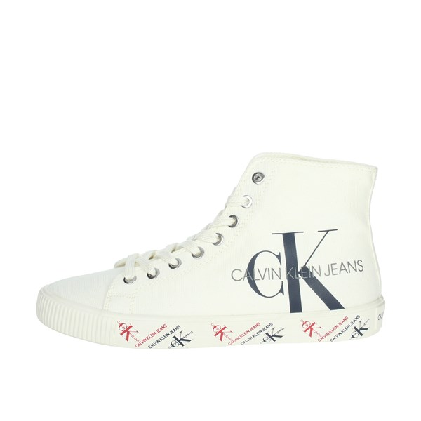 Calvin Klein Jeans Shoes Sneakers Creamy white B4R0894