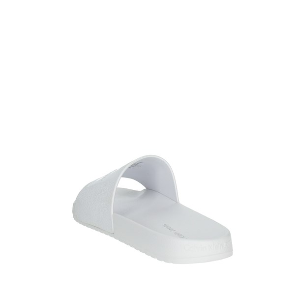 Calvin Klein Jeans Shoes Clogs White S0547