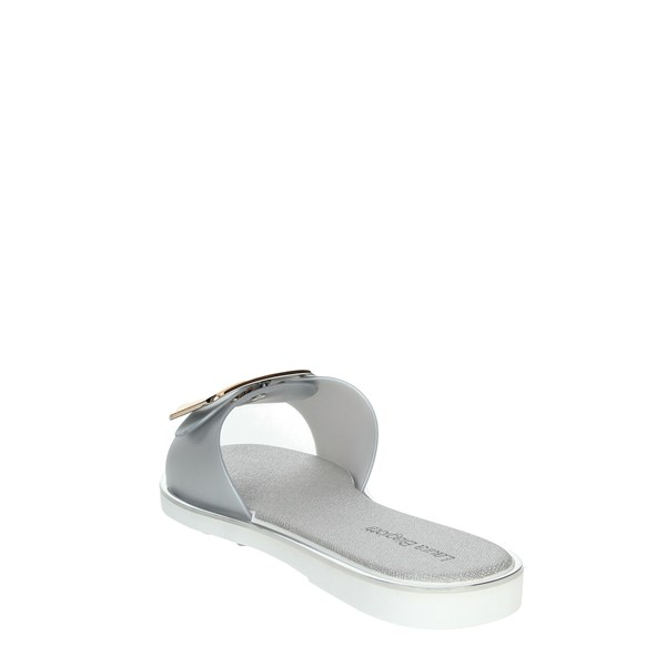 Laura Biagiotti Shoes Clogs Silver 6383