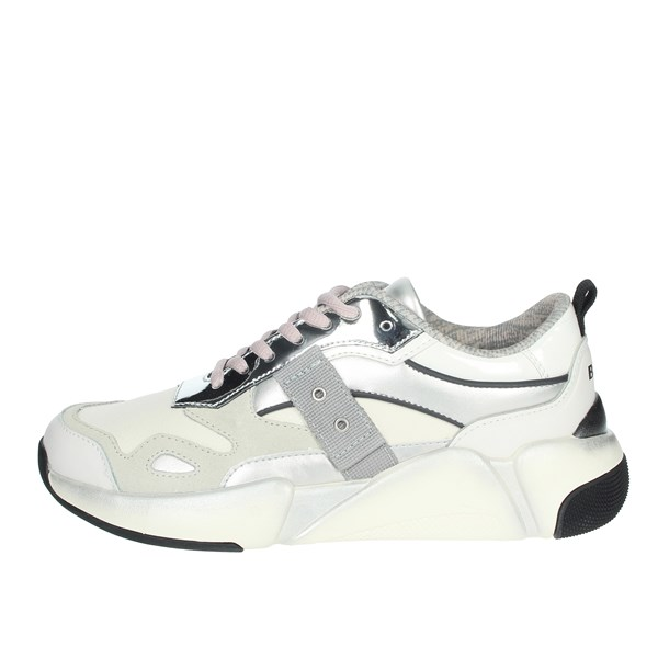 Blauer Shoes Sneakers White/Silver MONROE01