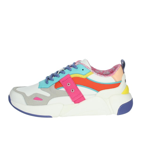 Blauer Shoes Sneakers White/Fuchsia MONROE01