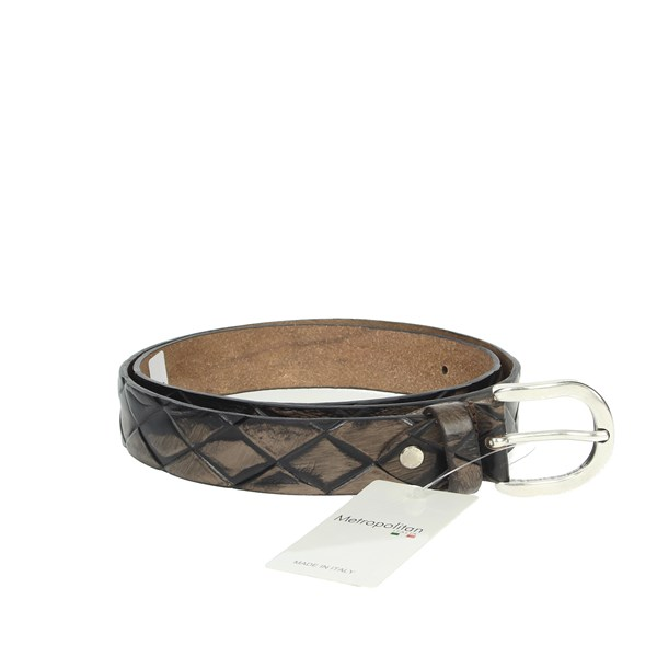 Metropolitan Accessories Belt Black 030