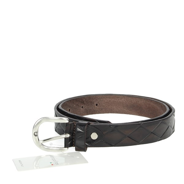 Metropolitan Accessories Belt Brown 030