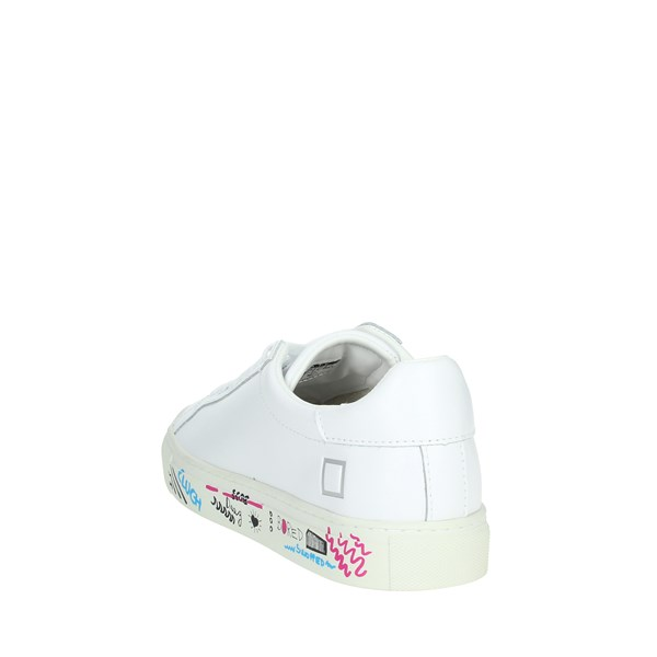 D.a.t.e. Shoes Sneakers White NEWMAN-1E