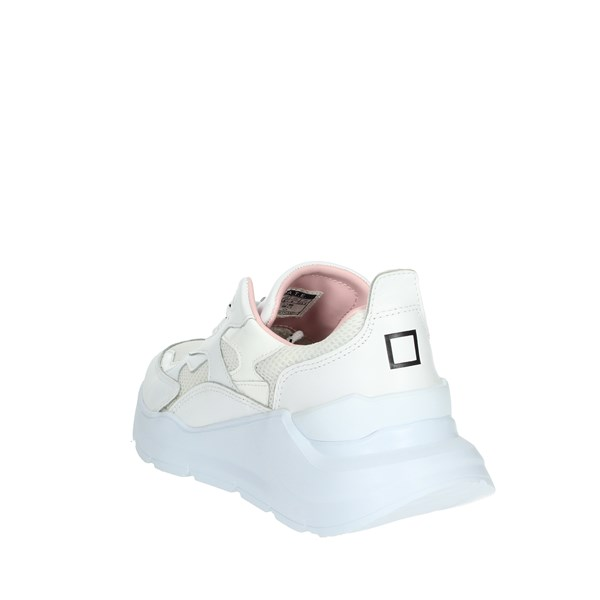 D.a.t.e. Shoes Sneakers White/Pink FUGA-2E