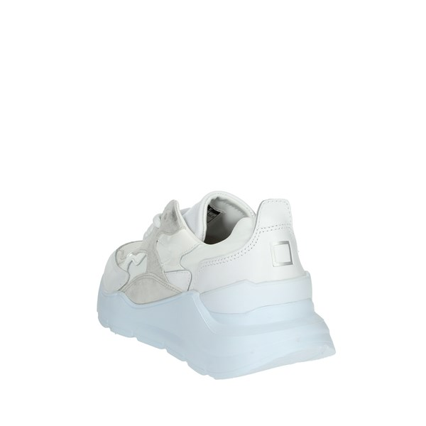 D.a.t.e. Shoes Sneakers White/Silver FUGA-5E