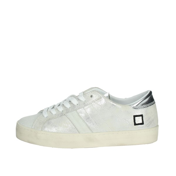 D.a.t.e. Shoes Sneakers White/Silver C7