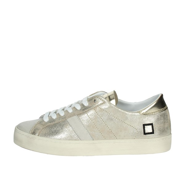 D.a.t.e. Shoes Sneakers Platinum  C4