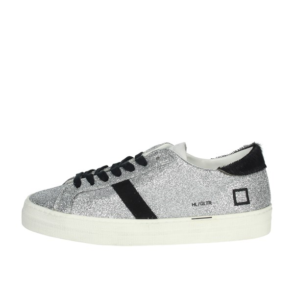 D.a.t.e. Shoes Sneakers Silver C1