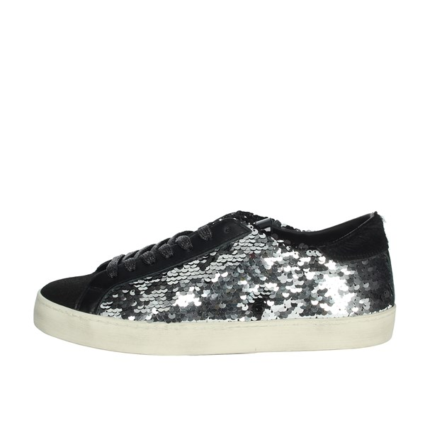 D.a.t.e. Shoes Sneakers Black/Silver C15