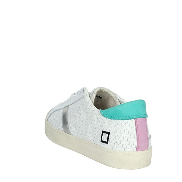D.a.t.e. Shoes Sneakers White/Green C14