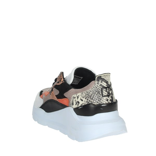 D.a.t.e. Shoes Sneakers White/Pink C6