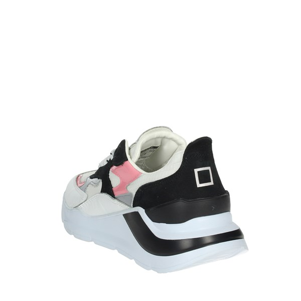 D.a.t.e. Shoes Sneakers White/Black C18