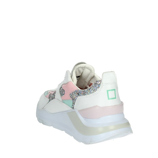 D.a.t.e. Shoes Sneakers White/Pink C17