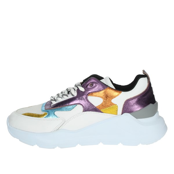 D.a.t.e. Shoes Sneakers White/Purple C20