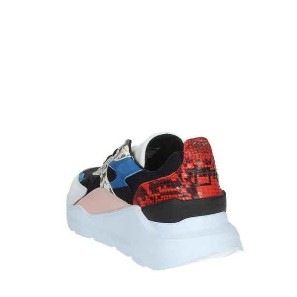 D.a.t.e. Shoes Sneakers White/Blue C5